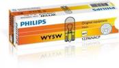 PHILIPS 12V 5W WY5W T10 W2.1x9.5d pomarańczowa, 10 szt.
