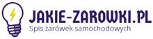 Spis żarówek samochodowych Jakie-zarowki.pl